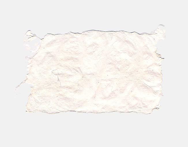 Handgeschept papier van ananas
