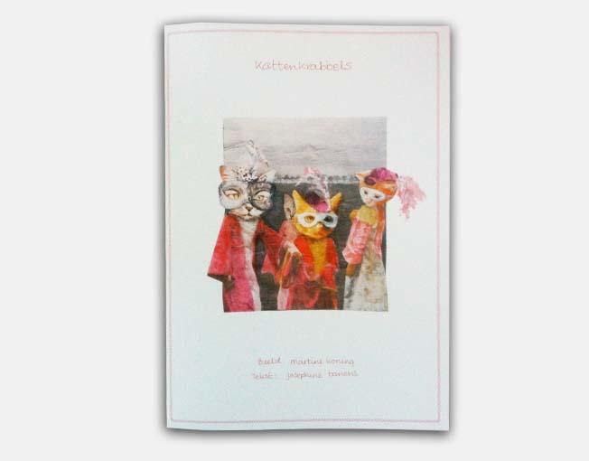Commerciële uitgave Kattenkrabbels - prentenboek te bestellen voor 10,- excl. verzendkosten